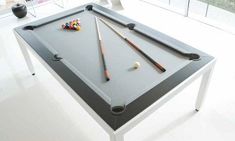 table de billard moderne